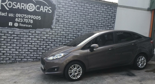 2016 Ford Fiesta Sedan Trend AT