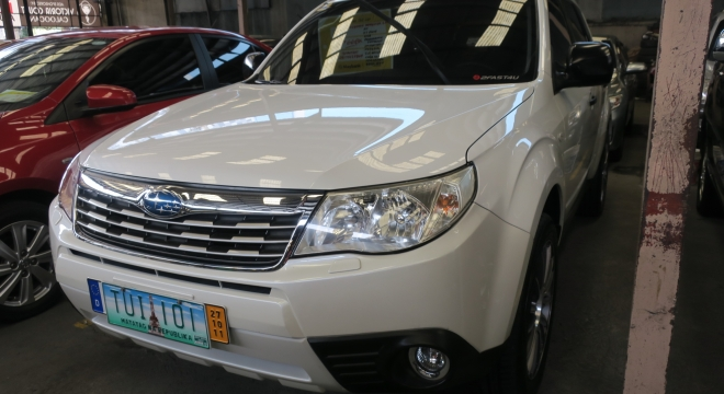 2011 Subaru Forester 2.0X