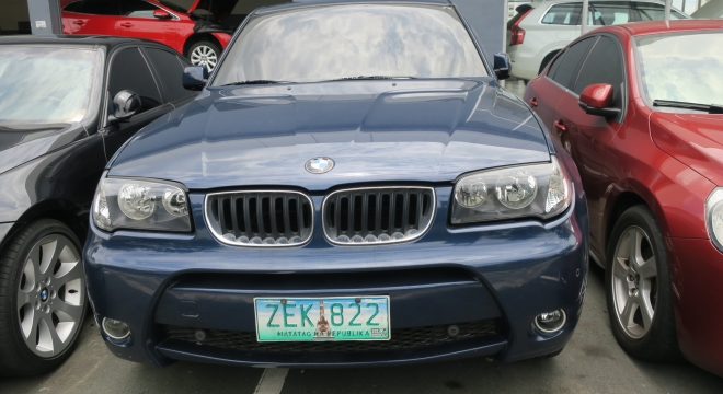 2006 BMW X3 2.0d  AT