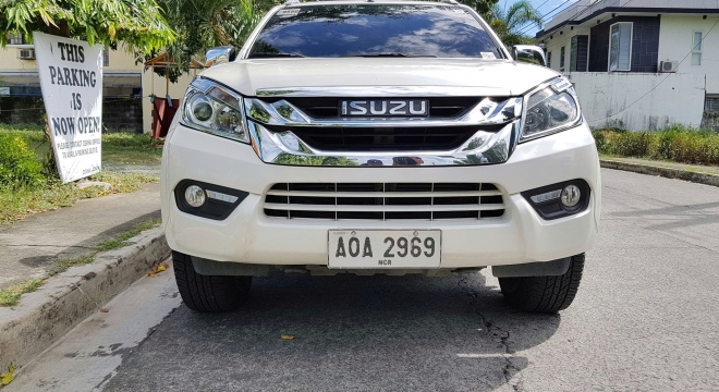 2015 isuzu mu-x 3.0l at diesel used car for sale in las pinas city, metro manila, ncr autodeal