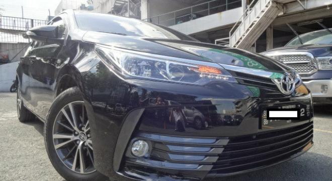 2017 Toyota Corolla Altis 1.6 G MT