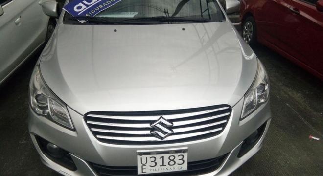 2016 suzuki ciaz 1.4l cvt gasoline used car for sale in paranaque city, metro manila, ncr autodeal