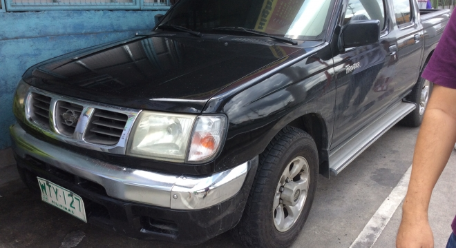 2001 Nissan Frontier 3.2L AT Diesel