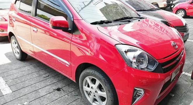 2017 Toyota Wigo 1.0L AT Gasoline