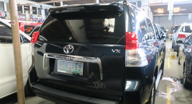 2011 Toyota Land Cruiser Prado Diesel AT