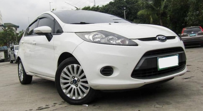 2012 ford fiesta hatchback 1.4l mt gas used car for sale in makati city, metro manila, ncr autodeal