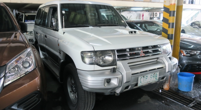 2003 Mitsubishi Pajero 2.8L AT Diesel
