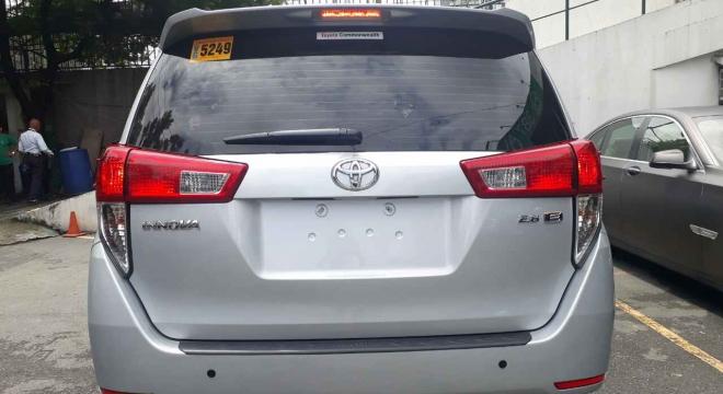 2016 Toyota Innova 2.8 E Diesel MT