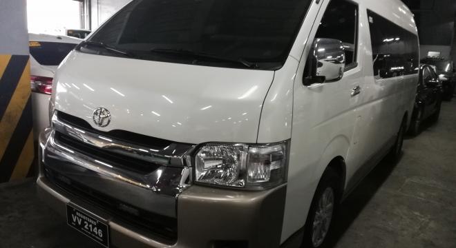 2017 Toyota Hiace Super Grandia 3.0 LXV AT