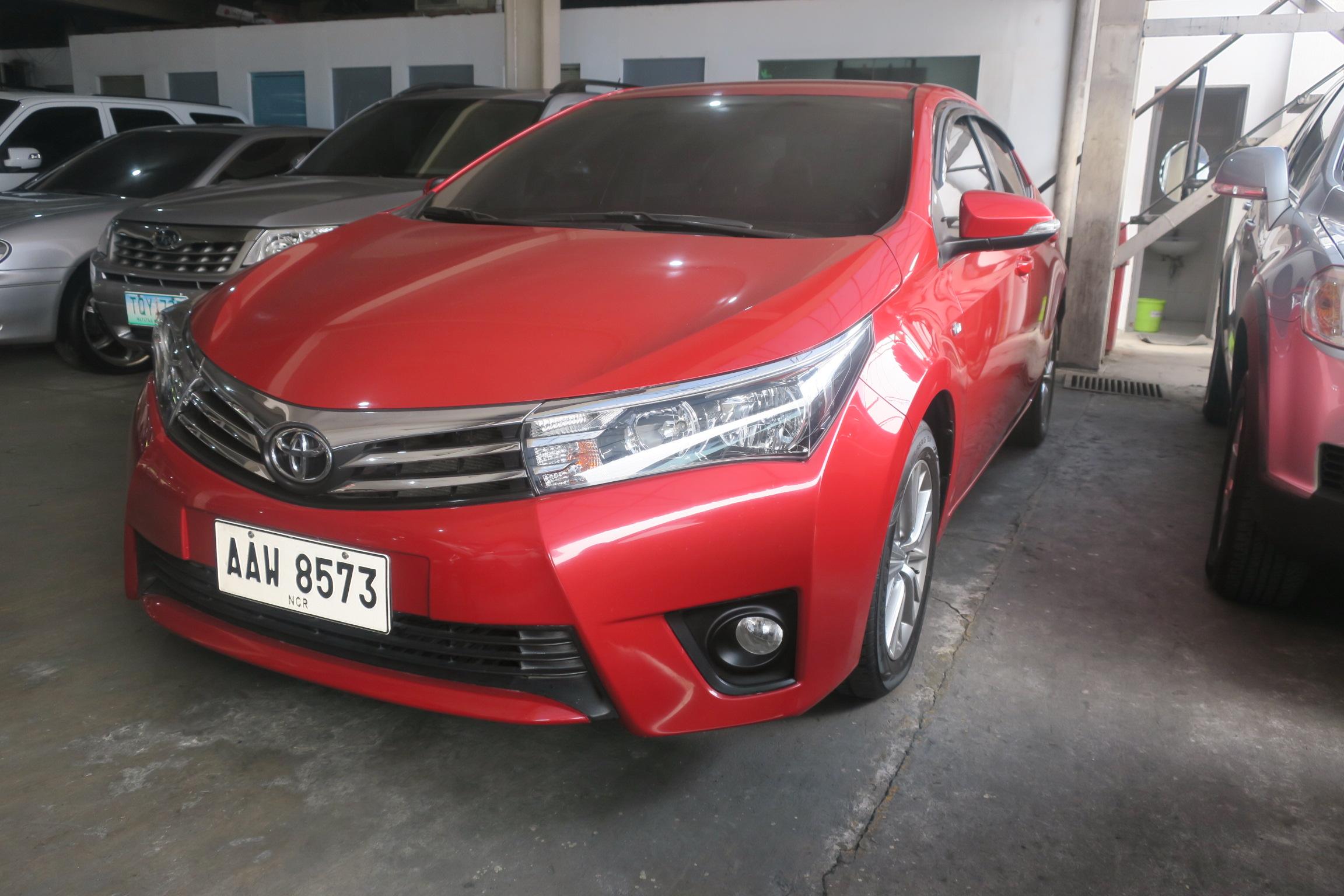 2014 Toyota Corolla Altis 1.6 G MT