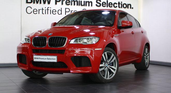2014 BMW X6 M 4.4L AT Gasoline
