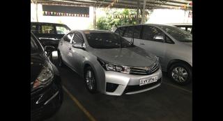 2016 Toyota Corolla Altis 1.6E MT
