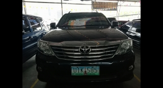 2012 Toyota Fortuner G 2.4L AT Diesel