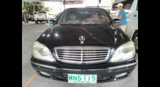 2000 Mercedes-Benz S-Class S480 AT