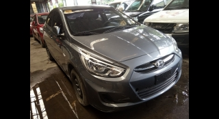 2017 Hyundai Accent Sedan 1.4 GL MT Gas
