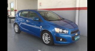 2013 Chevrolet Sonic Hatchback 1.4 LTZ A/T Hatchback
