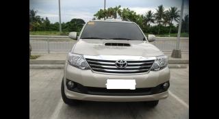2014 Toyota Fortuner G MT DSL