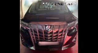 2019 Toyota Alphard 3.5L AT (Luxury Black)