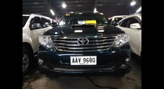 2014 Toyota Fortuner 2.5 G Dsl 4x2 AT