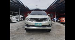 2012 Toyota Fortuner G Gas AT