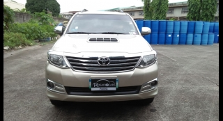 2014 Toyota Fortuner 2.5L MT Diesel
