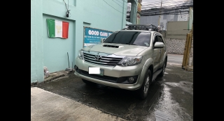 2014 Toyota Old Fortuner 2.5 V Dsl 4x2 AT