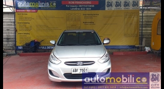 2015 Hyundai Accent Sedan 1.6L AT Gasoline