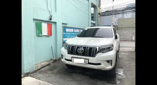 2018 Toyota Land Cruiser Prado 4.0 V6 Gas AT White Pearl