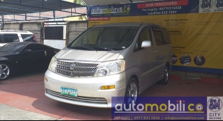 2002 Toyota Alphard 2.4L AT Gasoline