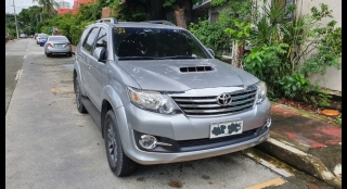2015 Toyota Fortuner 2.5L AT Diesel