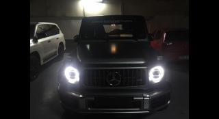 2019 Mercedes-Benz G-Class 4.0L AT Gasoline