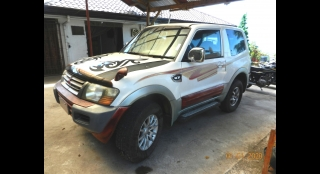 2008 Mitsubishi Pajero 2 door 3.2L AT Diesel