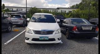 2013 Toyota Innova E Gas AT