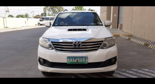 2012 Toyota Fortuner V AT