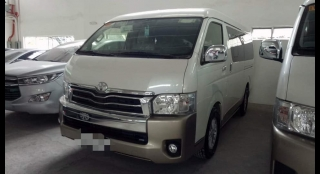 2017 Toyota Hiace Super Grandia AT