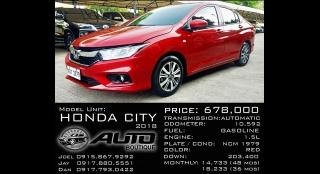 2018 Honda City 1.5 AT Gasoline
