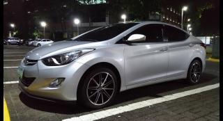 2012 Hyundai Elantra 1.6L MT Gasoline