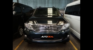 2012 Toyota Fortuner G AT DSL