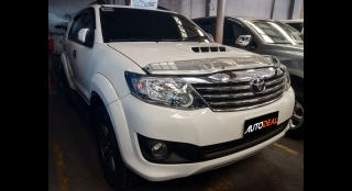 2014 Toyota Fortuner G MT DSL