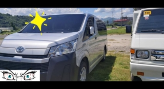 2020 Toyota Hiace Commuter Deluxe 2.8L MT Diesel
