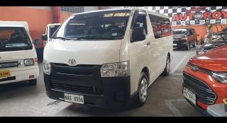 2017 Toyota Hiace Commuter MT Diesel