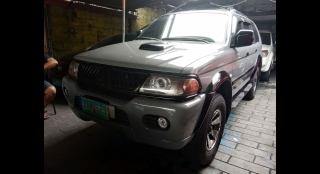 2005 Mitsubishi Montero Sport MT Diesel