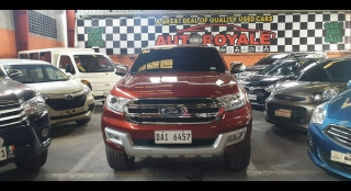 2018 Ford Everest 3.2 Titanium 4x4 AT