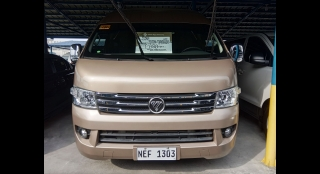 2019 Foton View Traveller Luxe