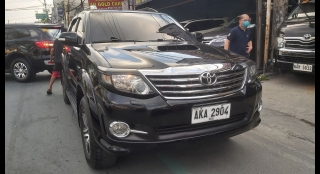 2015 Toyota Fortuner V AT Diesel