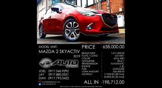 2019 Mazda 2 Hatchback 1.5L CVT