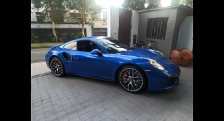 2014 Porsche 911 Turbo S 3.8L AT Gasoline