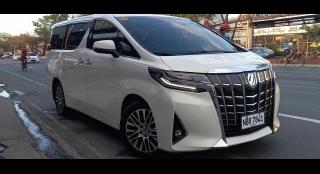2018 Toyota Alphard AT V6