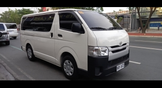 2018 Toyota Hiace Commuter 3.0 MT
