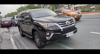 2019 Toyota Fortuner G 4x2 MT
